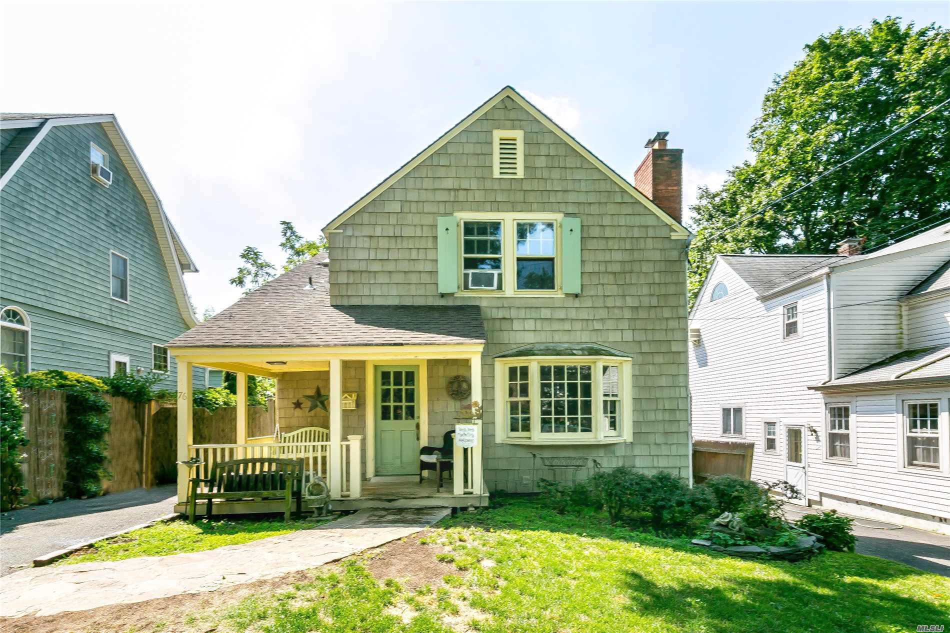 Expanded 3/4 Bedroom Park Section Colonial, Amazing Potential, Being Sold As Is Great Upper Block Location, Large Bedrooms, Kitchen And Family Room, Huge Basement, Loaded With Charm.