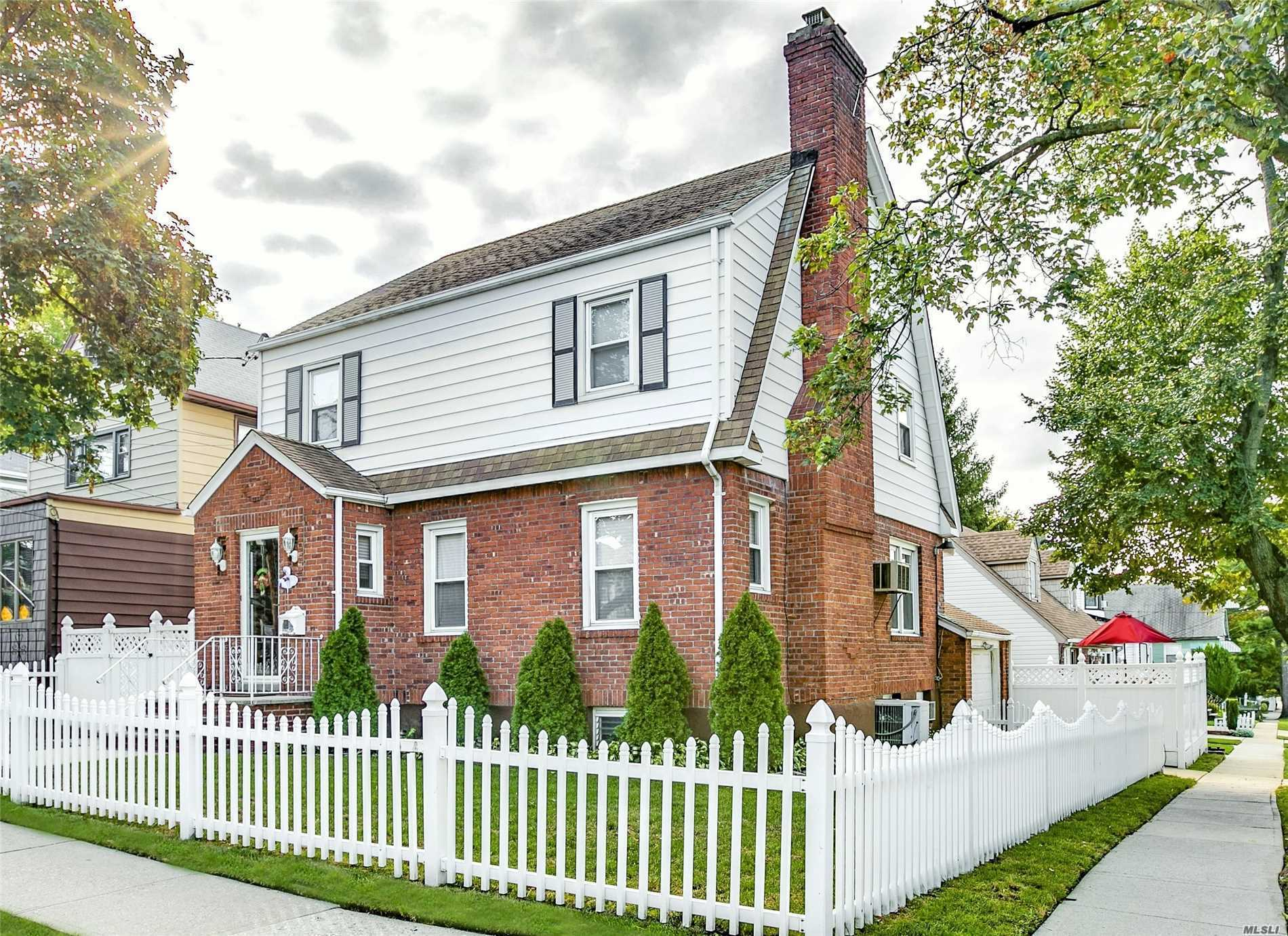 Remodeled Det. Colonial, Prime Loc, Tree Lined Street. Corner Lot 50X75. Spac 3 Br, 1.5 Ba, Living Room, Wbfp, Hdwd, Crwn Mldg, Dining Room, Kitchen W/ Granite Countertops, F/ Fin Bsmt W/ Sep Entr. Beautiful Priv. Backyard W/ Swimming Pool. Nr Park And Buses. One Car Gar W/ Pvt Driveway. Zoned R3A, Possible 2 Family Conversion. Check Local Zoning & Consult An Architect.