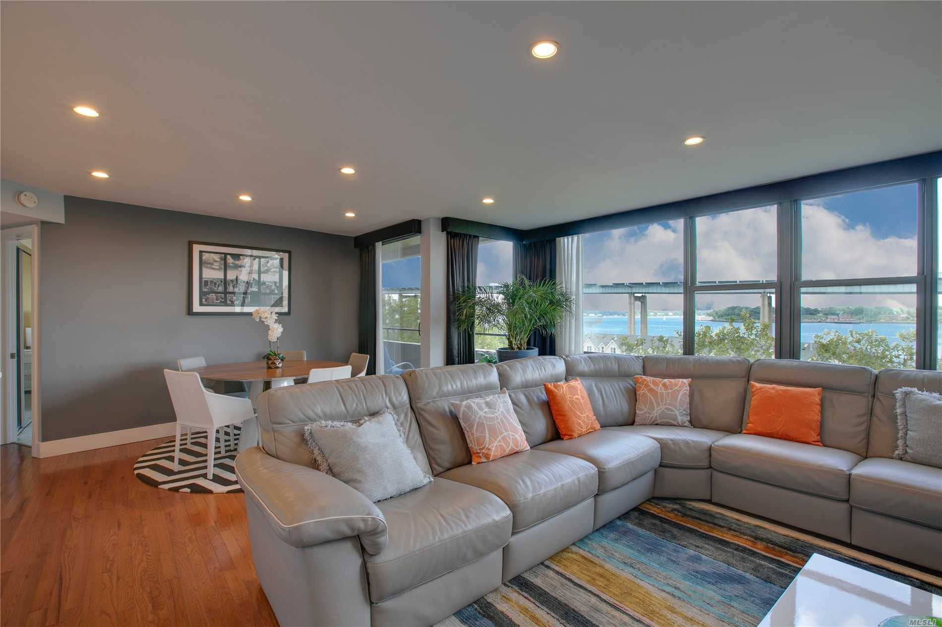 Beechhurst Le Havre Spectacular 3 Br Apartment With Panoramic Water Views. Designer Renovation With Unsurpassed Detail To Luxury. This One Of A Kind Unit Feat. Expanded Euro Kitchen With State Of The Art Appliances, Stainless Steel Backsplash, Spa Bath, Hardwood Floors, Central Air And Custom Built-Ins. Enjoy The Prime Waterfront Location & Morning Sunrise On Your Very Own Private Balcony.Le Havre Development Offers 2 Outdoor Pools, Tennis, Gym, & Cafe. Express Bus To Nyc & Local Bus To Flushing