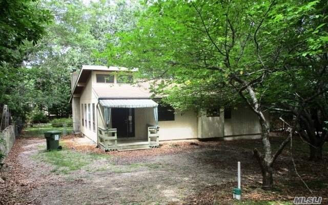 Ranch Style Home , Sitting On Almost 1/2 Acre , With Enclosed Porch, Only A Few Minutes Dr From The Beach