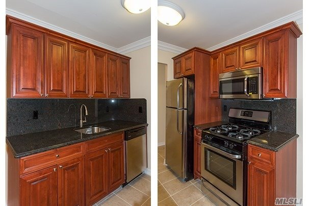 Beautiful Courtyard Setting For Deluxed Air-Conditioned 1 & 2 Bedrooms. New Raised Panel Kitchen Cabinetry With Dishwasher & Microwave. Heat, Hot Water & Cooking Gas Included. Some With New Terraces. Detached Garages Available. Minutes To The L.I.E. Exit 72 And Local Transportation.