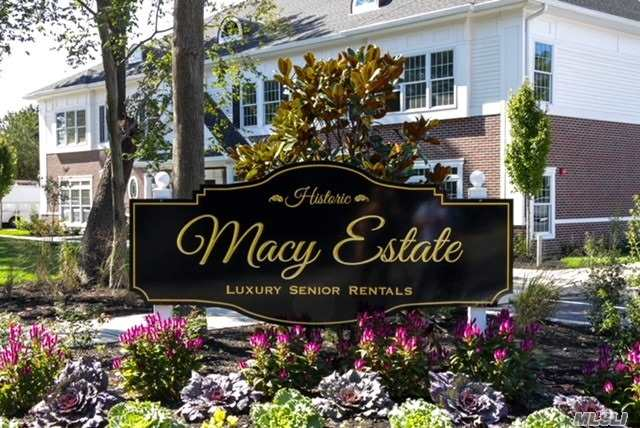 55+ Luxury Senior Living Located Right In The Middle Of Downtown Islip. Downstairs Unit, Open Concept Design, Bright Rooms With Large Windows, Granite Counter Tops, Ss Appliances And Good Amount Of Closet Space. Close To Shopping, Railroad Station, Highways, Seatuck Nature Center And Islip Beach.