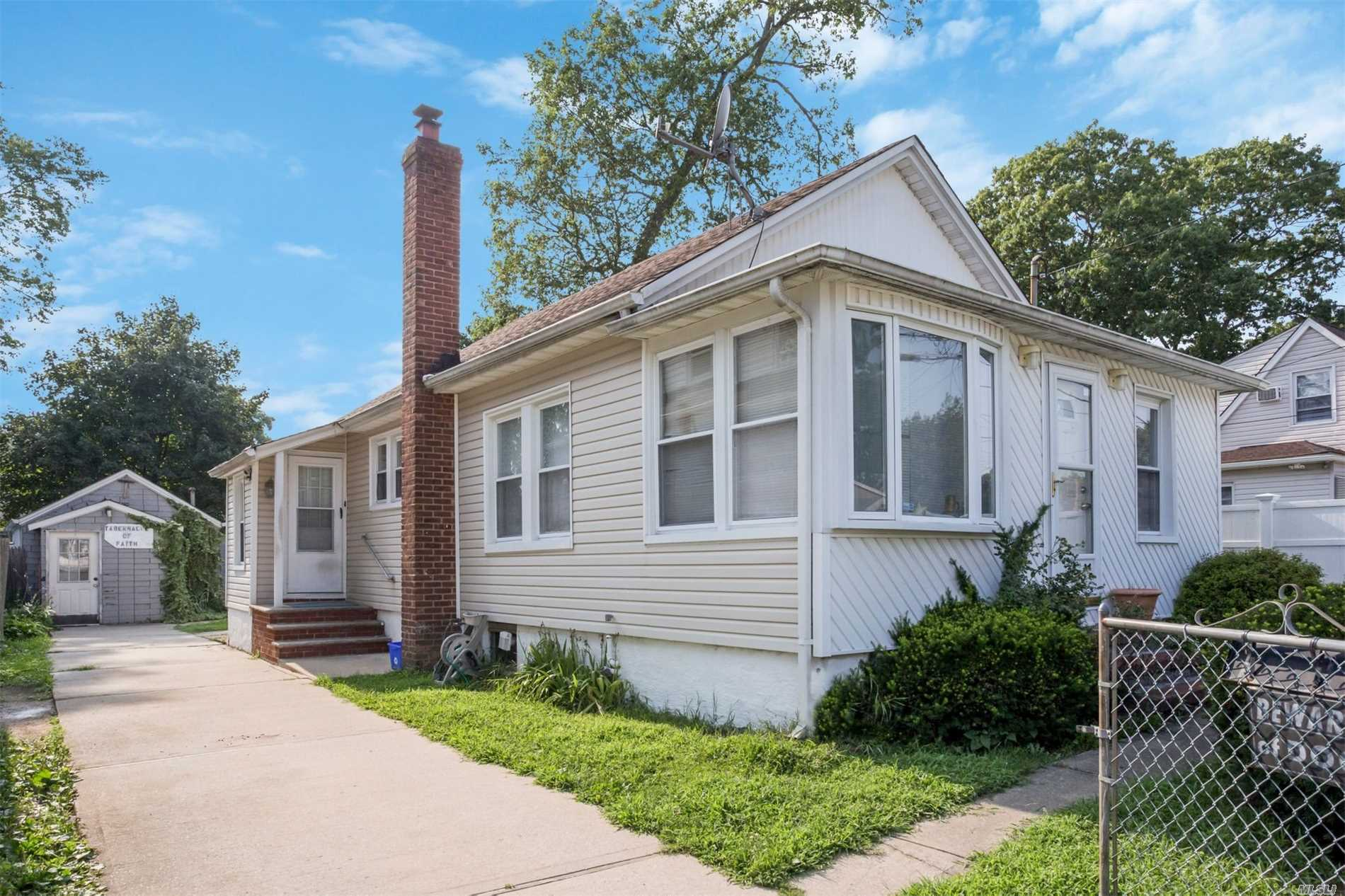 2 Bedroom 1 Bath Ranch With Large Backyard On Oversized Lot Being Sold As Is. Updates Include Heating System 2 Years Young And Younger Roof.