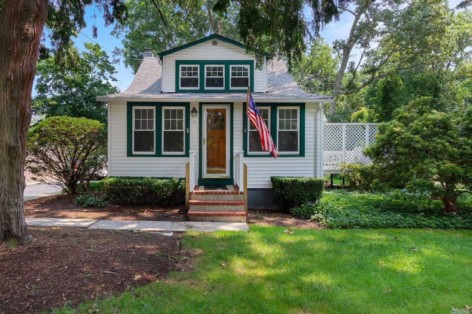 Charming Two Bedroom Cape On An Oversized Flat Piece Of Property. Hardwood Floors Just Refinished And Fresh Paint Makes This Adorable Home Ready To Move Right In! Entertain In Your Private Yard On Your Spacious Deck. Won't Last Long!