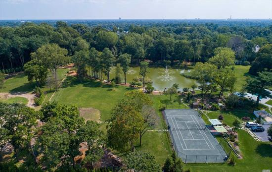 Beautified And Landscaped Usable Two Acre Lot Located In The Gated Luxury Community Of Hidden Pond, The Crown Jewel Of Long Island's Gold Coast. Har Tru Tennis Court. Spectacular Pond View. Conveniently Located In Close Proximity To Nyc And Major Airports. Build Your Dream Home. Highly Ranked Jericho School District.