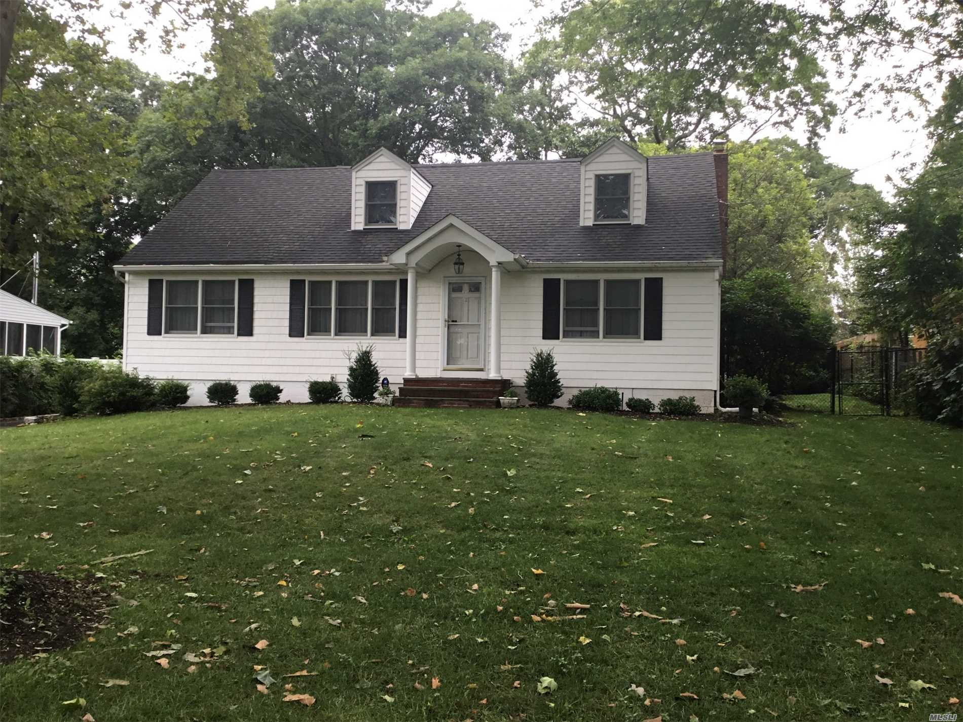 Spacious, Expanded, Dormered Cape, Totally Updated, Located In Desirable Deeded Private Beach Community. Featuring Hardwood Floors, Granite Countertops, Updated Bathrooms, 4 Large Bedrooms.