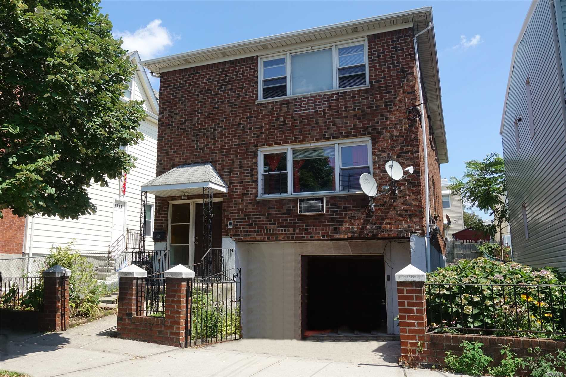 Good Opportunity To Get A Beautiful Detached 2 Family Property Generating Good Rental Income In Heart Of College Point!