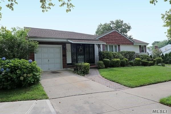 Beautiful Brick Expanded Ranch In The Exclusive Royal Ranch Section Of Glen Oaks. Set On An Oversized 74/100 Lot In Sd #26. The Royal Ranch Community Consists Of About 120 Homes And Gives One The Feeling Of Long Island With Queens Taxes. The Home Features Three Bedrooms, One Full And 2 Half Baths, Expanded Kitchen, Large Living Room, Dining Room, Family Room And A Full Finished Basement. Additional Features Of This Home Include Cac And Attached 1 Cargarage & Community Pool