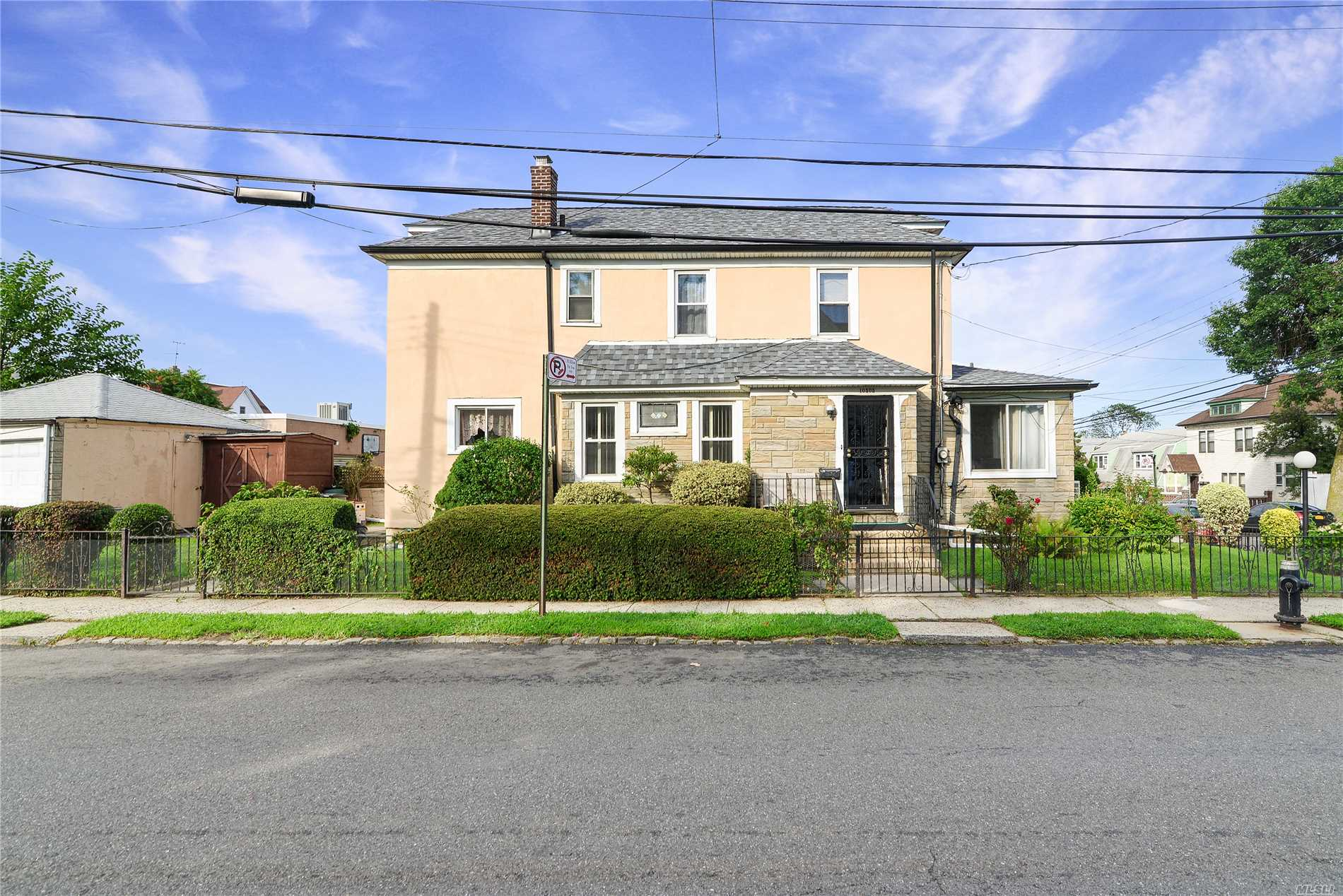 Corner Property Featuring Living Room, Formal Dining Room, Eat In Kitchen, 3 Bedrooms, Full Bath, Full Finished Basement With Separate Entrance. Perfect For Family Recreation, 2 Car Garage, Detached With Add Yard Space.