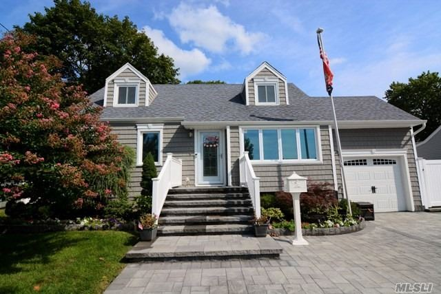 Welcome Home To This Fully Updated Cape Cod Style Home With Too Many Amenities To List. Pride In Ownership Shows Throughout This 4 Bedroom, 2 Bath Cape W/Finished Basement & Private Paver Yard W/Pool & Covered Patio. Walking Distance To Lirr.