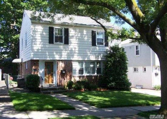 Awesome Bellerose Manor 3 Bedroom Colonial. Central Air...Hardwood Floors...2 Car Detached Garage...Gas Heat...Low Taxes...Close To All Parkways, Buses...A Must See