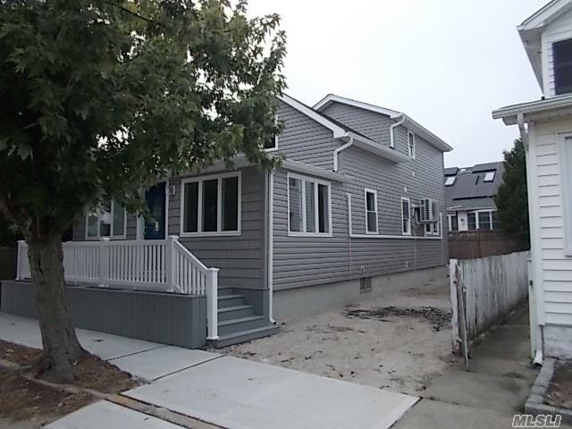 Completely Renovated Cape From Top To Bottom. 2 New Designer Baths, Kitchen W/ Stone Counters & Ss Appliances. New Roof, Windows, Siding, 5 New Mini Ductless Units For Heat And Ac. Fenced Front Porch, Paver Patio In Rear, Do Not Miss This One!