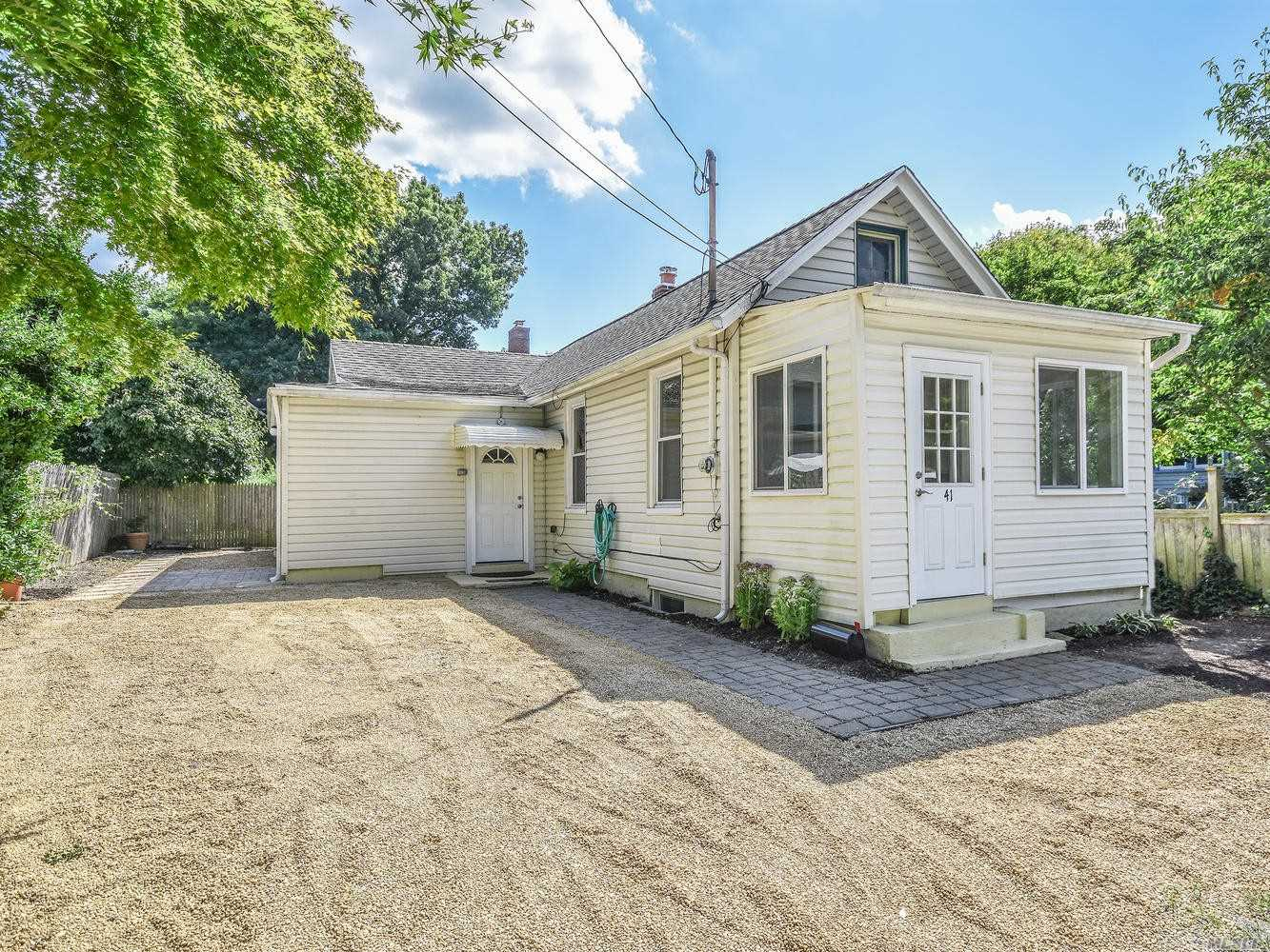 Cozy Two Bedroom Country Cottage With Updated Kitchen And Bath. Off Street Parking For Two Cars. Close Proximity To Sea Cliff Elementary School, Parks, Shops, Library, Restaurants And Beach. No Pets. Full Current Credit Report And References Required. No Smoking In House.