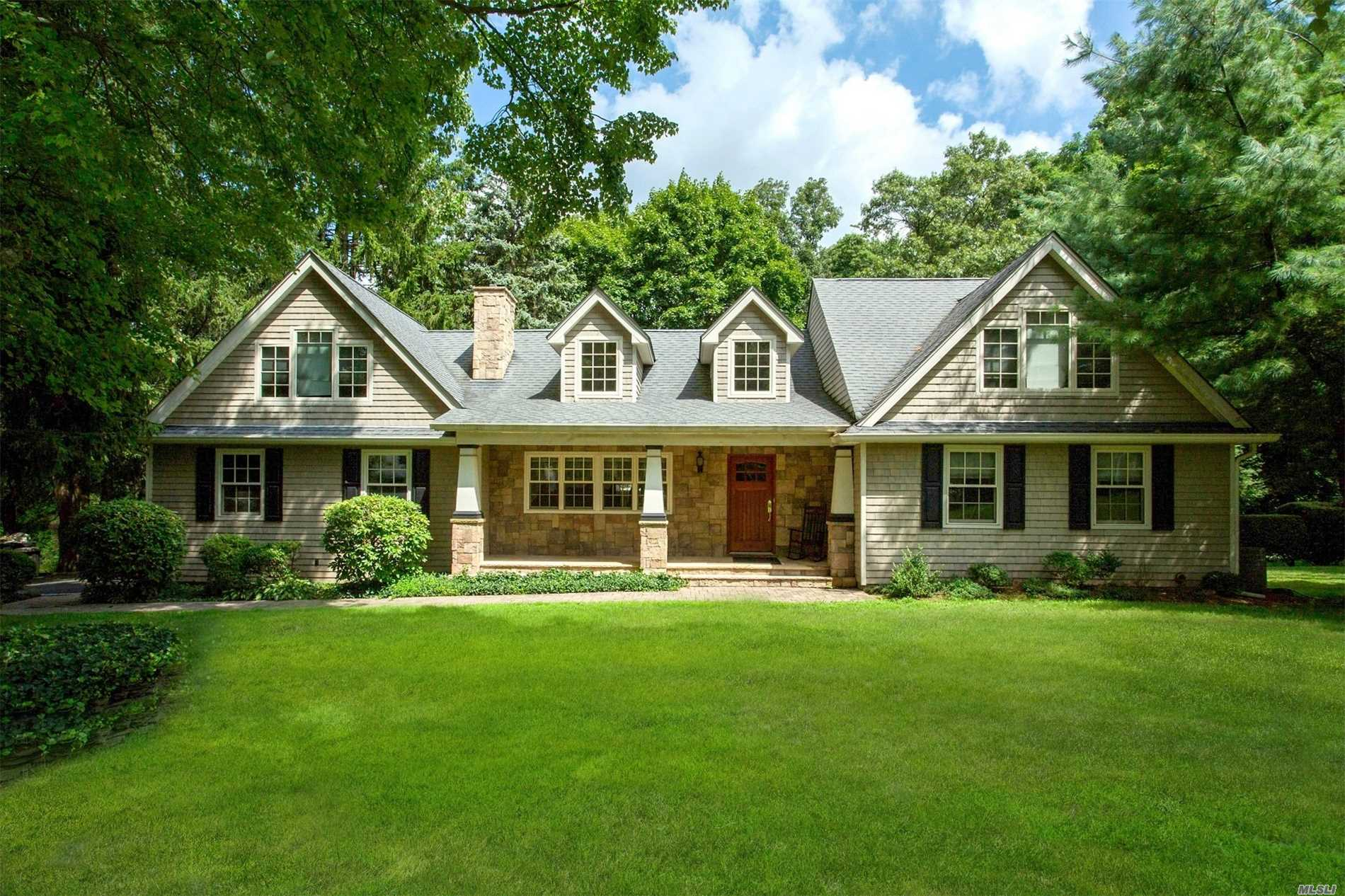 Welcome To This Fabulous, Expanded And Updated Adirondack Style Farm Ranch In Old Chester Hills With An Open Floor Plan, Gourmet Kitchen, Two Fireplaces, Grand Master Bedroom Suite. Located On A Wonderful Street Away From The Main Thoroughfares. Truly A Special Home.