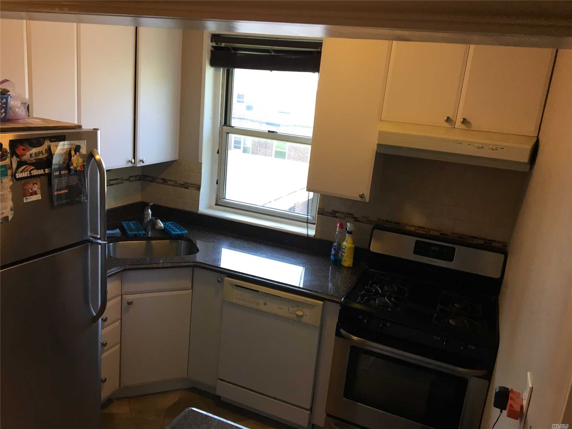 Beautiful Renovated 1 Br Apartment In The Desirable Baydale Co-Op Complex Of Bayside...Apartment Features 1 Huge Bedroom And Renovated Bathroom...Kitchen Also Fully Renovated With Granite And Lots Of Cabinets....Tons Of Closet Space....Airy And Super Sunlit....Close To Everything