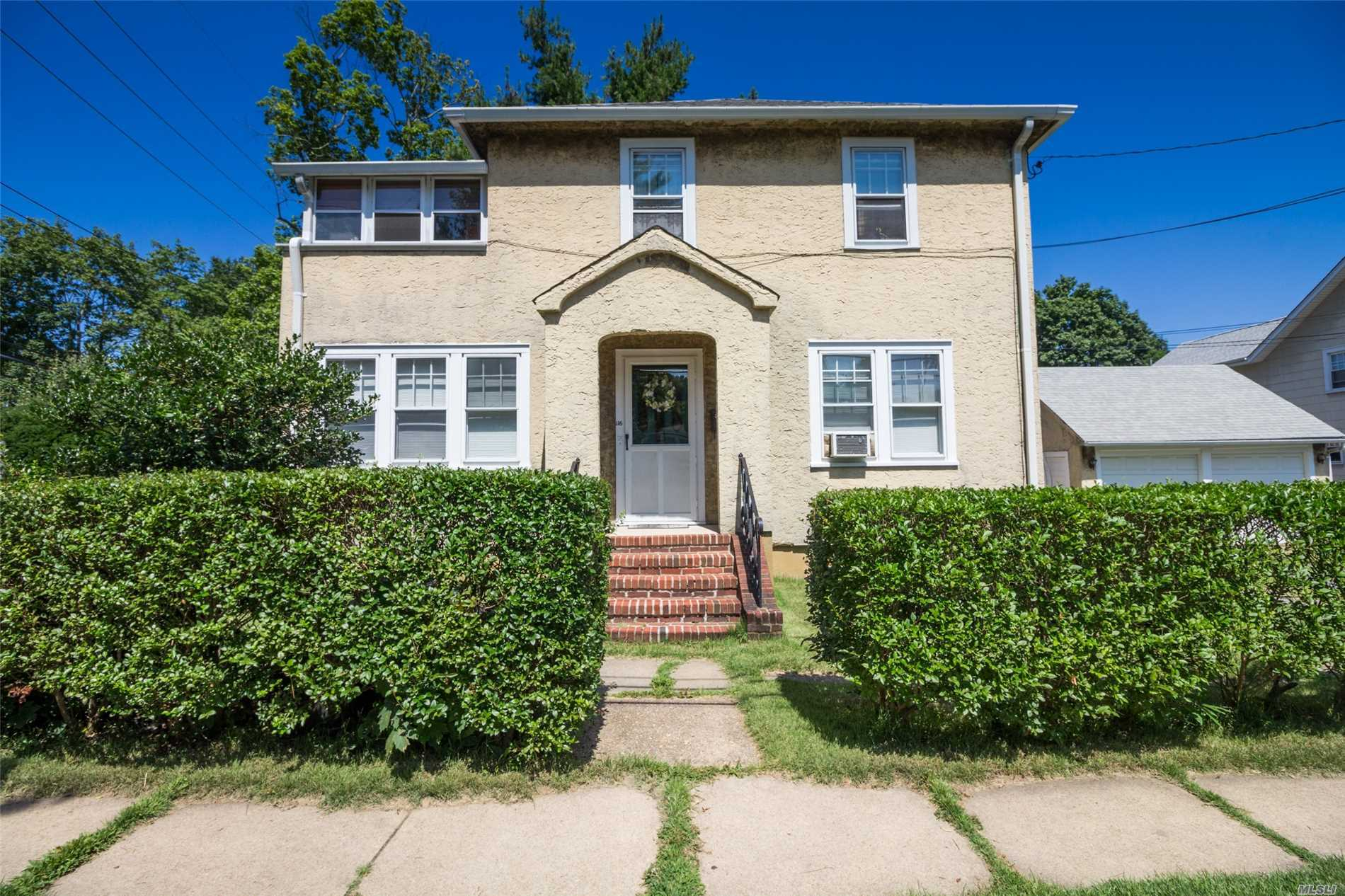 4 Bedrooms, 2 Full Baths, 2 Eat In Kitchens, Living Rooms With Fireplace, Sunroom, Glassed In Porch. Call Your Investors! Huge Corner Property, Endless Possibilities, Income Producer.