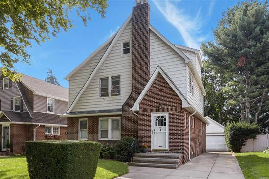 Magnificent Large Tudor On A Dead End Street, Old World Charm, Moldings, Archways, Wonderful For Entertaining, Perfect For A Large Family. Close To Stores, Restaurants, Schools, Houses Of Worship, L.I.R.R Station (35 Minutes To Penn Station), Floral Park Schools, Total Taxes Include Village.