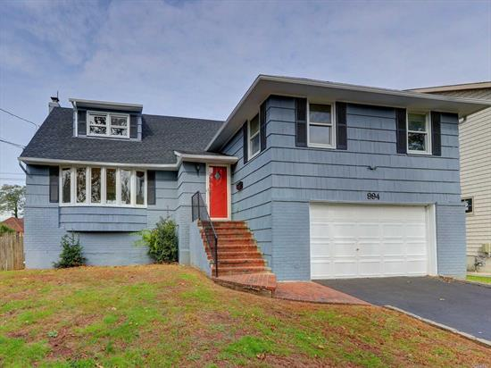 Split Style Home. This Home Features 5 Bedrooms, 2.5 Baths, Dining Room, Eat In Kitchen & 2 Car Garage. New Roof And Freshly Painted. Centrally Located To All. Don't Miss This Opportunity!