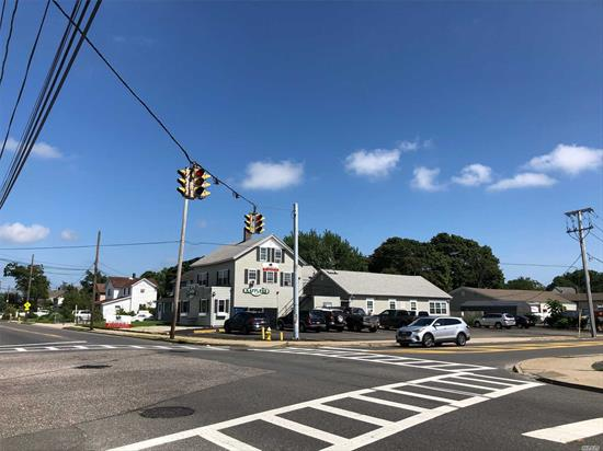 Calling All Investors & Developers!!! 10 Unit Mixed-Use Corner Property For Sale! Property Features 7 S.R.O.S, (2) Two Bedroom Apartments, 414 Hotel Zoning, A Bar, Great Location, Solid Tenants, Excellent Signage, Plenty Of Parking, +++!!! This Property Is Offered For Sale At Over A 10 Cap!!! The Hotel Is Located At A Lit Signalized Intersection Directly Across The Street From The Patchogue Train Station On The Corner Of West Ave. & Division Street. Property Has A Clean Environmental Report.