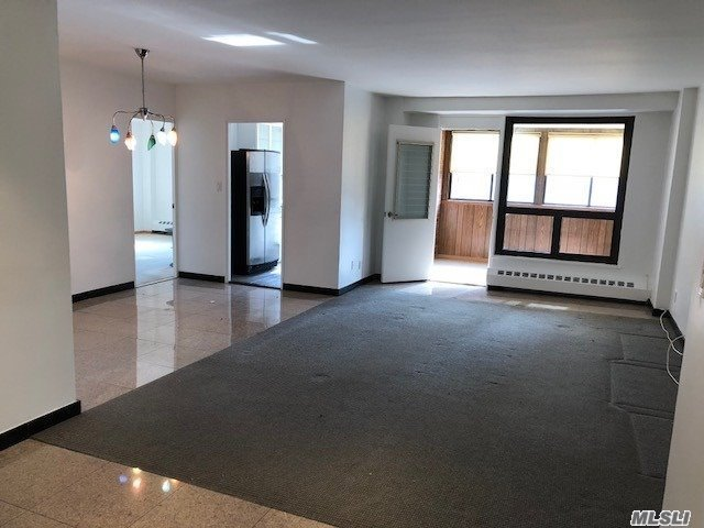 Huge Price Reduction.....Fully Renovated Large 2 Br & 1.5 Bath, Huge Lr/Da, Modern Eik With Granite Counter Top. Closed Terrace Can Be Used As Office Rm Or A Den. Granite Floor Lr & Kitchen. W/W Carpet On Lr Center Area And 2 Brs. Master Br Suite W 1/2 Bath With Window. Apt Is In Prestigue Pc Estates W 24 Hr Sec Gate And Doorman. Close To Everything, Rego Center Mall, Costco, Subway, Express Bus And Schools. Hurry Up To Grab This Unique Apt. Will Not Last.