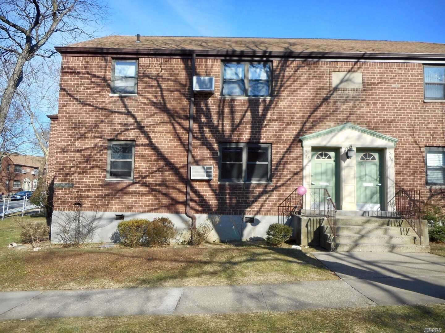 New Listing In Beech Hills! Bright Corner Unit! Inside Courtyard Location. 3 Bedrooms On First Floor . New Stove, New Washer, New Dryer! Maintenance Included All Utilities And Parking! ( Maintenance Reflect 2 Ac, Washer, Dryer, Dishwasher) Zone For The Top Schools In District 26 !