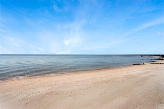 Jackson Street On The Bay! Rarely Do Bay Front Properties On This Prestigious Street Come To Market And When They Do, They Don't Last! 100 Ft. Of Sugar Sand Beach, 1 Acre, 5 Bedrooms, 2 Bathrooms, Outdoor Shower, Double-Sided Fireplace, Vintage Barn/Studio And A Wraparound Deck, Providing Spectacular Views Of Robins Island. Surrounded By Vineyards, Restaurants And Great Shopping. Make This Your Waterfront Escape.