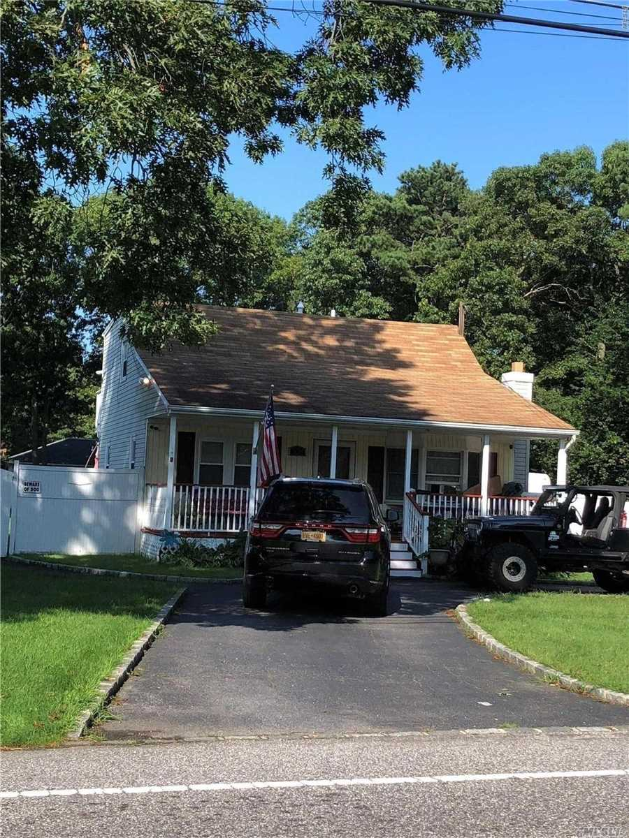 Charming Cape Features 3 Bedrooms, 2 Full Baths, Oak Flrs, Sitting Porch, Entertainers Back Deck, & Fenced In Huge Yard!!