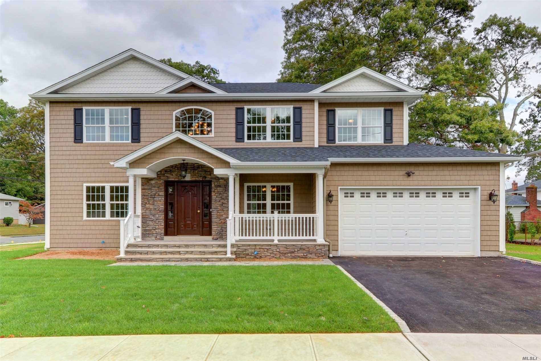 This Diamond Colonial Will Be Customized For You! Most Prominent Builder Spares No Expense! Beautiful O/S Property..Designer Kitchen/Granite/Cent Island/Ss Ge Profile Appl..Custom Baths..Crown Molding..Gleaming Hardwood Flrs..Family Room With Gas Frplc..Master Bedroom W 2/Wi Closets/Full Bath..Inground Sprinkler..Front Porch..2 Car Garage..2 Zone Cac/Hydronic Heat. All Pictures Are For Workmanship Only Perfect Time To Upgrade To Your Dream Home!