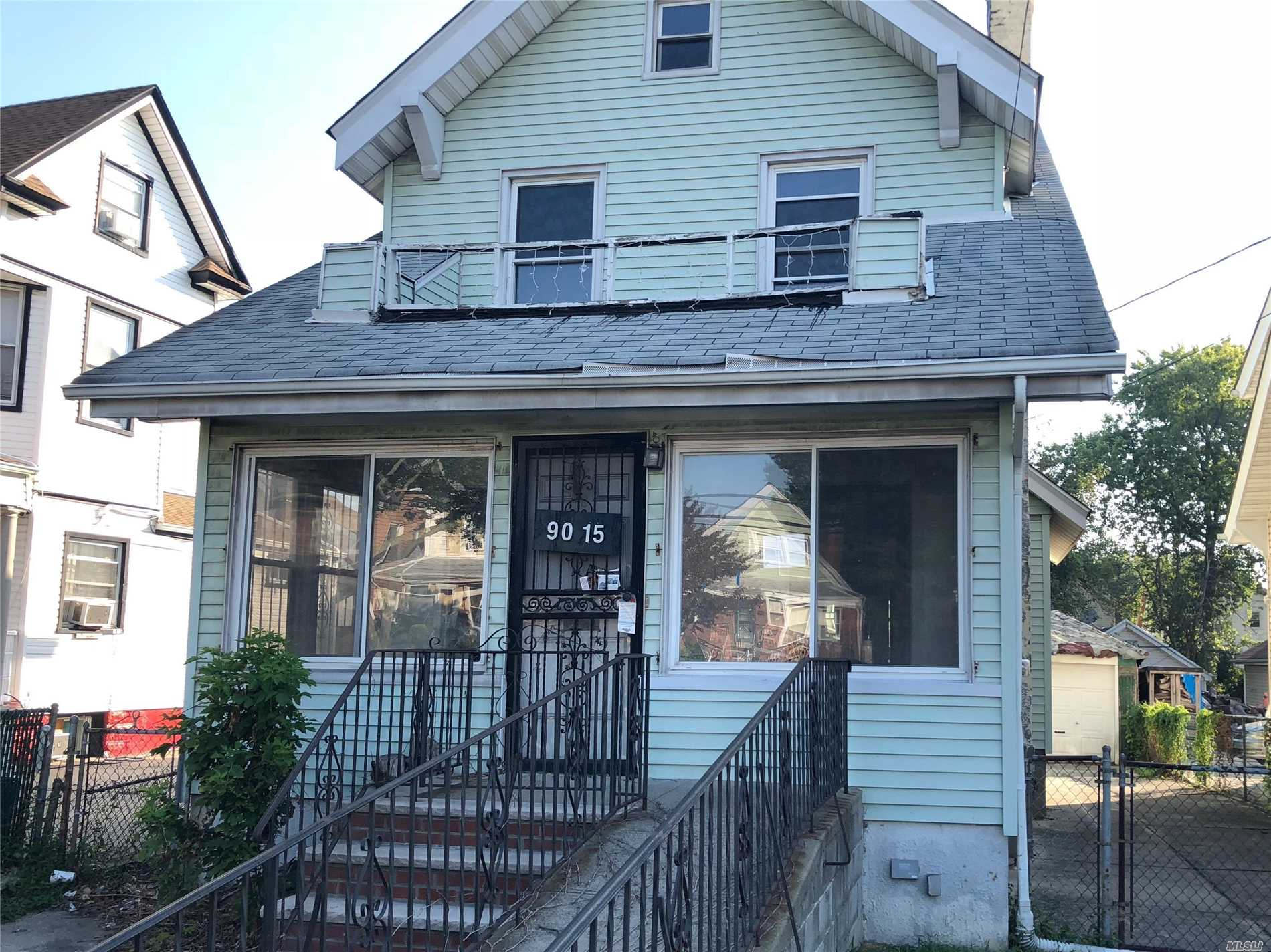 Large Colonial With 3 Bedrooms And 1.5 Bath. Enclosed Porch, Large Private Driveway And A Detached Garage. Close To Shopping, Transportation And Major Roadways.