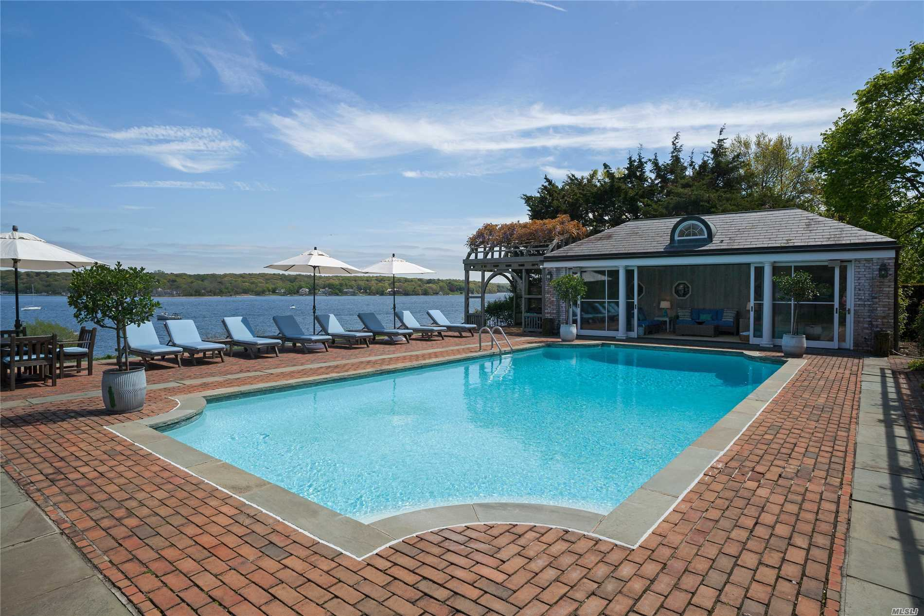 This Premiere Centre Island Compound Is The Perfect Hampton's Alternative! A Majestic 653' Waterfront Estate With A 306' Long Dock On Oyster Bay. Amazing Views Of Ob Harbor, Lloyd Harbor, And Cove Neck. Three Homes On An Impeccably Manicured 7.26 Acres. Main House Had A Complete Renovation In 2010. Guest House And Cottage Each With 4 Bedrooms. Dock, Pool, Pool House, Har-Tru Tennis Court, Putting Green, And 6 And 2 Car Garages. A Short Drive From Manhattan,