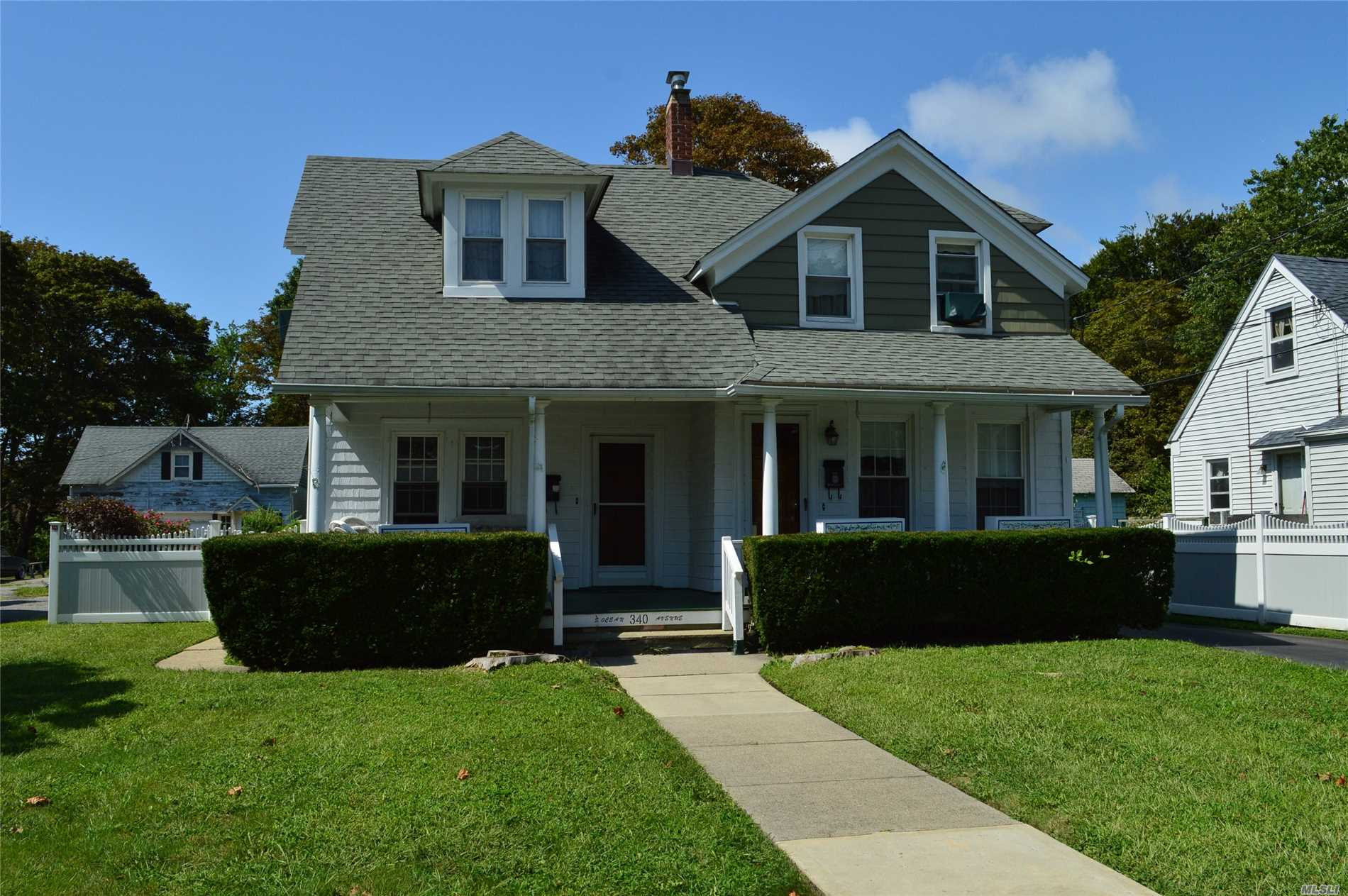 Legal 2 Family in Patchogue Village as per Village. Short walk to water and Train.