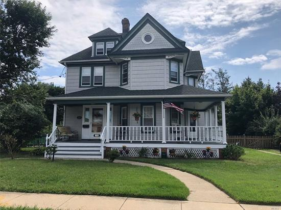 Charming Colonial Circa 1900'S. Beautiful Wrap-Around Porch. Baldwin Schools. Hardwood Floors Throughout. Roof Only 7 Yrs Old. Tons Of Storage. Hi-Ceiling, Walk Up Attic. Big Backyard. 4 Brs, Formal Dr. Beautiful Curb Appeal. Cozy Home. Must See!
