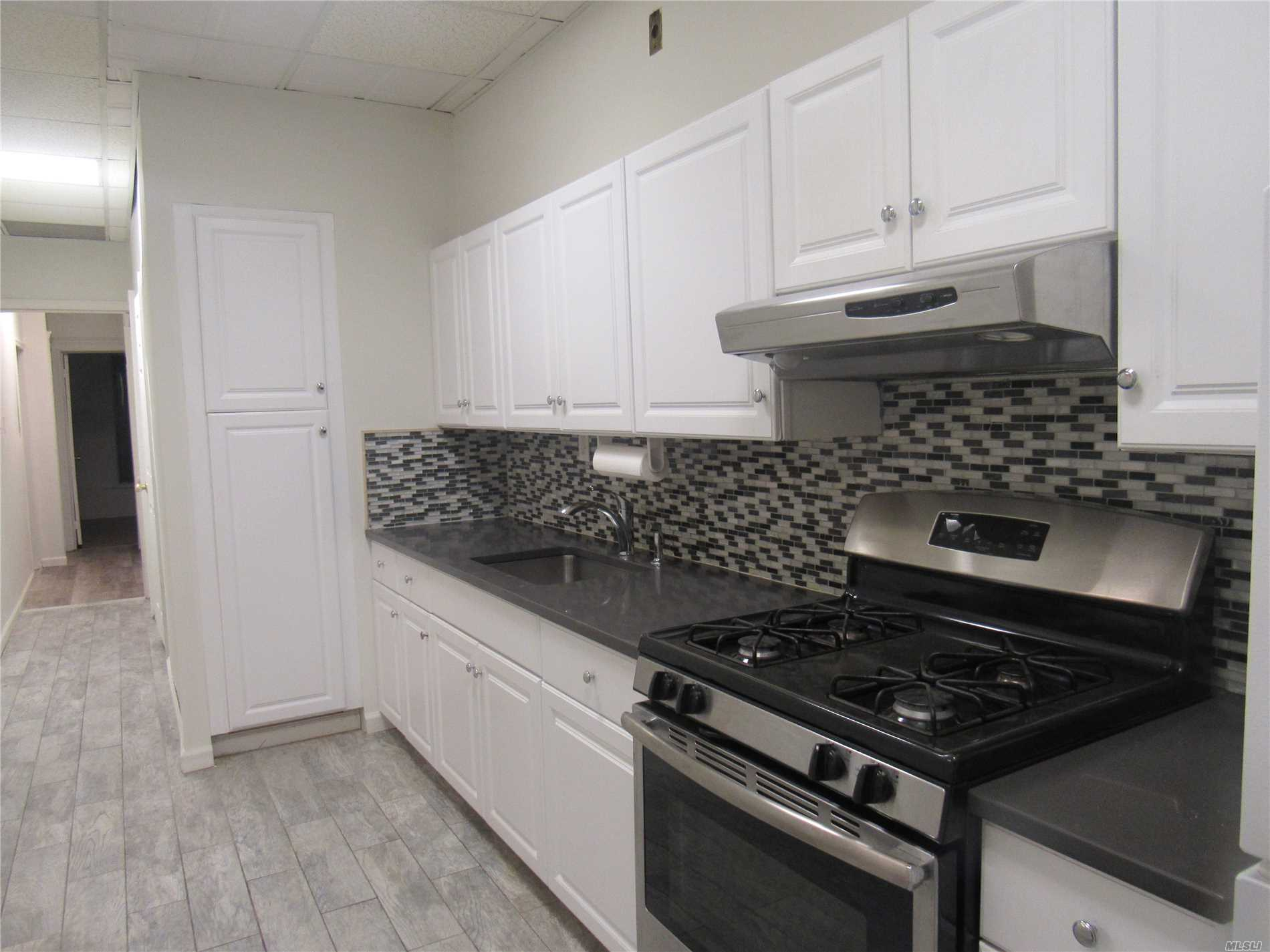 Huge Apartment With High Ceilings - Granite Countertops And Stainless Steel Appliances - Kitchen With Designer Tiles - Use Of Front Porch - Credit Check And Tax Returns Required - Will Be Available For Rent October 1 - Owner Will Consider Small Pet At Their Discretion