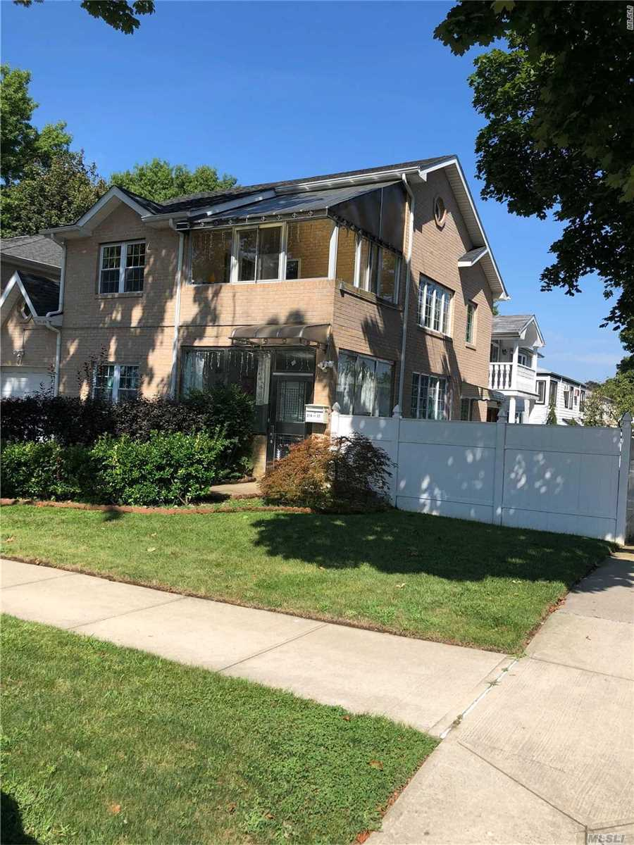 Sparkling Brick House In Excellent Condition ! Large Full Finished Basement And Attic , Jacuzzi Inside Master Bedroom. Big Working Closet. A Plus House In Prime Bayside Location & Best School In District #26, Ps46, Ms74, Cardozo High School. Convenient To Shopping, Q88, Q27, Q30 & Express Bus To City.