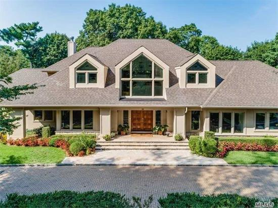 Amazing New Price.... A Cut Above- Impressive 2002 Custom Built Post Modern With A 2-Story Entry, Soaring Ceilings & Walls Of Windows, Overlooking A Country Club Backyard. Home Offers 2 Master En- Suite Bedrooms On 1st Level, Lr, Fdr, Chef's Eik, A Spectacular Lower Level, Spac Great Rm, Game Rm, Gym, Ose To A Htd Ig Pool & Outdr Kitchen, Htd Driveway, Well Water,  Bkup Gen