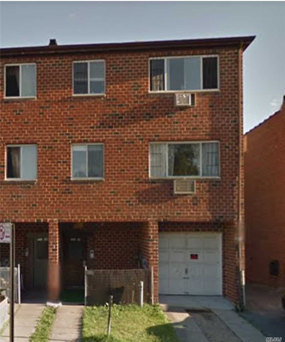 1 Bedroom, Living Room/Dining Room, New Kitchen, Full Bath. Steps To Shopping, Public Transportation And Houses Of Worship. Includes All Utilities !!!!!!!!Good Credit And Income Verification A Must !!!!!!