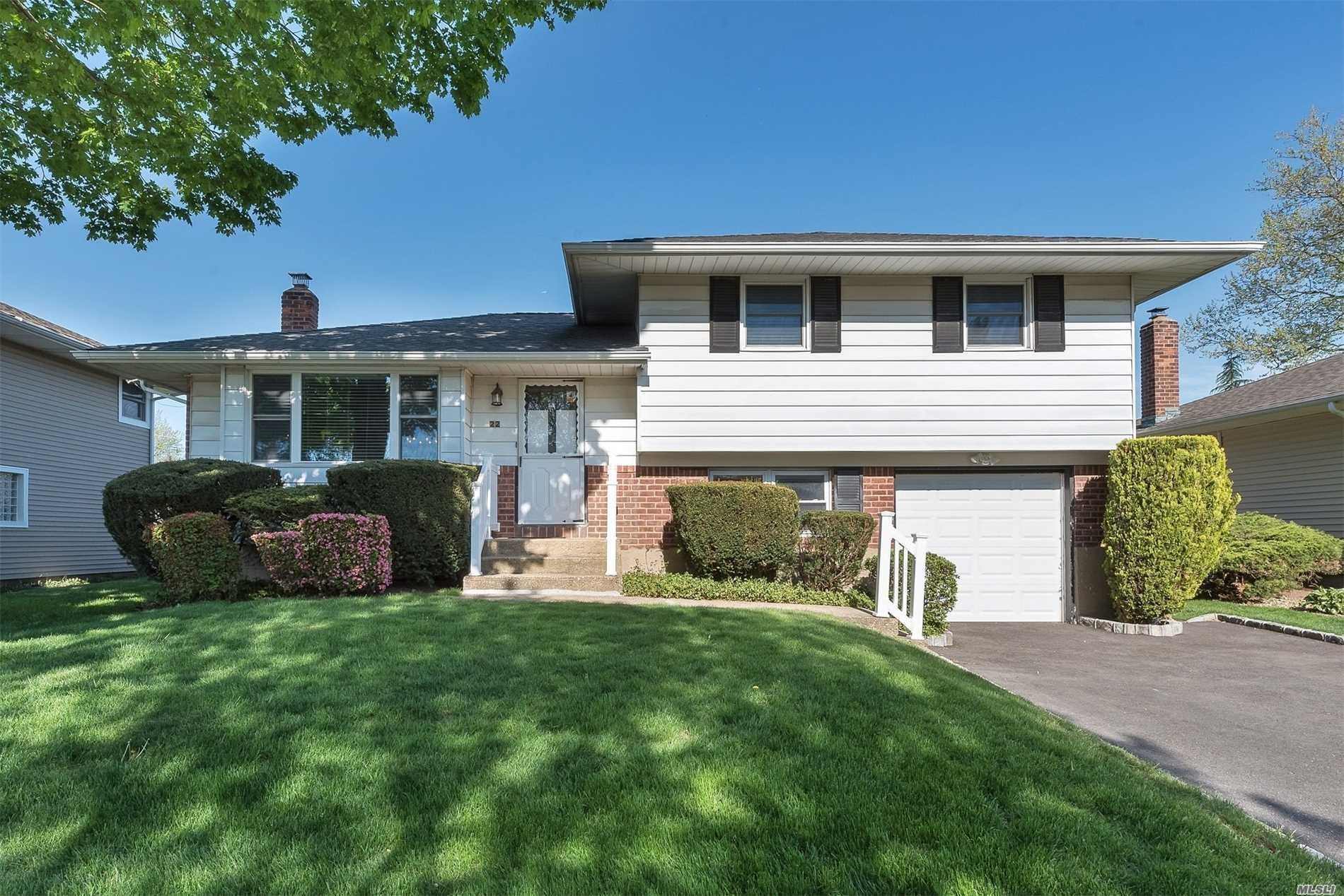 Updated Split In Pasadena Area, 4 Bedrooms, 2 Updated Full Baths, New Finished Basement With Plenty Of Storage, 200 Amp Electric Upgrade, Updated Windows, Central Air, New Patio And Driveway, Hardwood Floors, New Garage Door & Professional Manicured Yard.