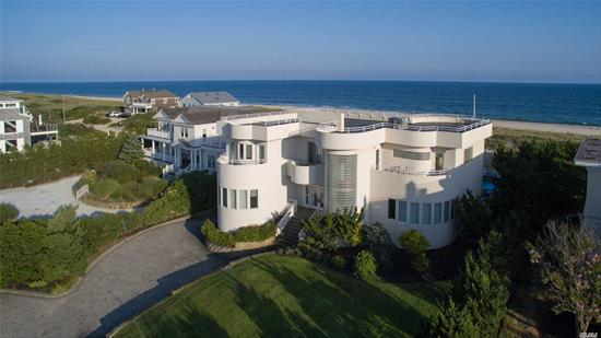 Situated On 1.65 Acres Of Oceanfront, This Five Bedroom, Six Bath Estate Offers Breathtaking Views Throughout As Well As An Abundance Of Amenities. An Open Floor Plan Concept Seamlessly Transitions You From The Kitchen, Dining And Living Spaces, Which Have Large Windows With Breathtaking Oceanfront And Bay Views. The Custom Staircase To The Second Level Leads To The Master, Guest Rooms, And Balconies. Head Outdoors And Entertain In The Spacious Patio, Heated Pool And Private Beach Sitting Area!