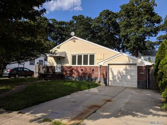 Step Right Into Nassau County Living In This Centrally Located Ranch. A Full Basement And One Car Garage Make For Ample Storage Option! Nice Tree-Lined Street Waiting For You To Move In! Don't Pass This By!