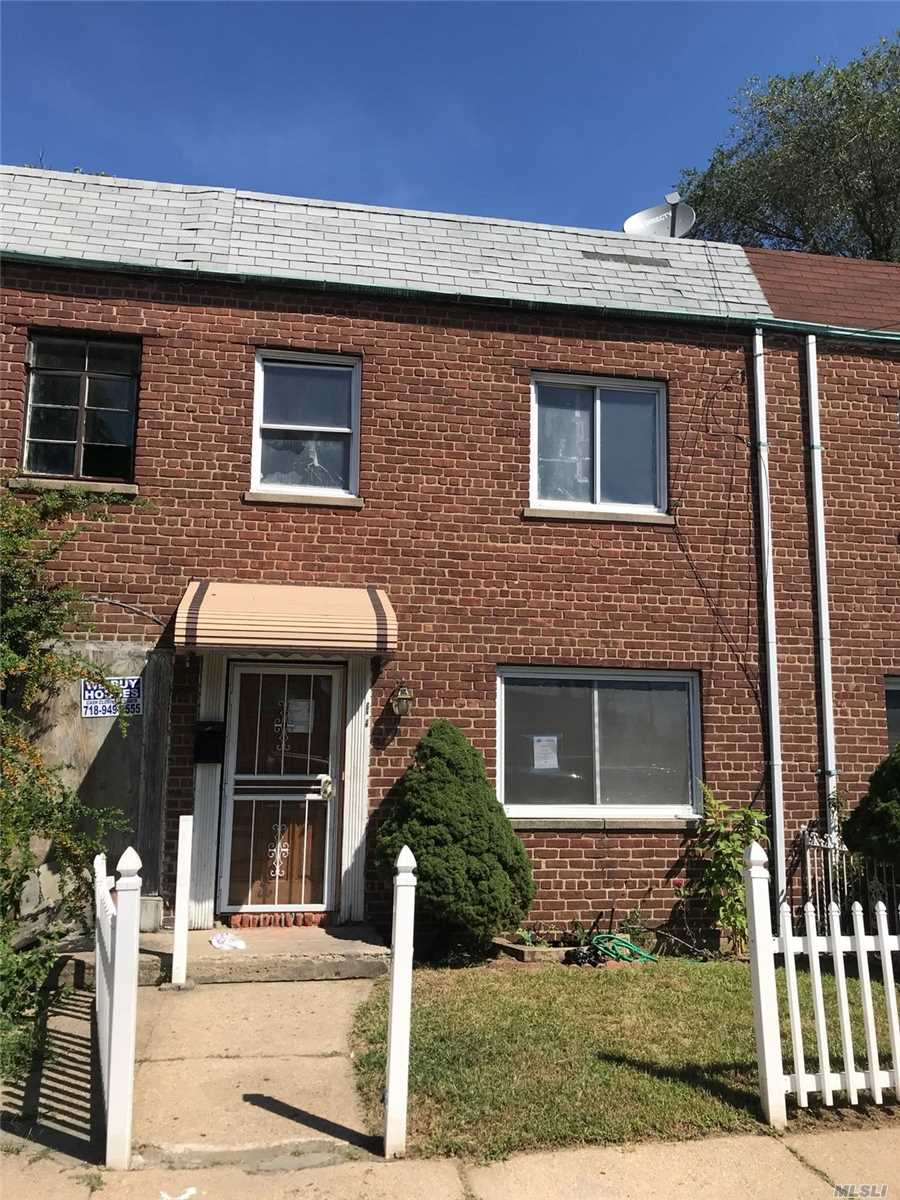 Attached Single Family Colonial With Fully Finished Basement With Full Bathroom. Property Is Located In The Cambria Heights Section Of Queens. The First Floor Features A Kitchen, Living Room, Formal Dining Room, And A Half Bathroom. The Second Floor Consists Of Three Bedrooms And One Full Bathroom.
