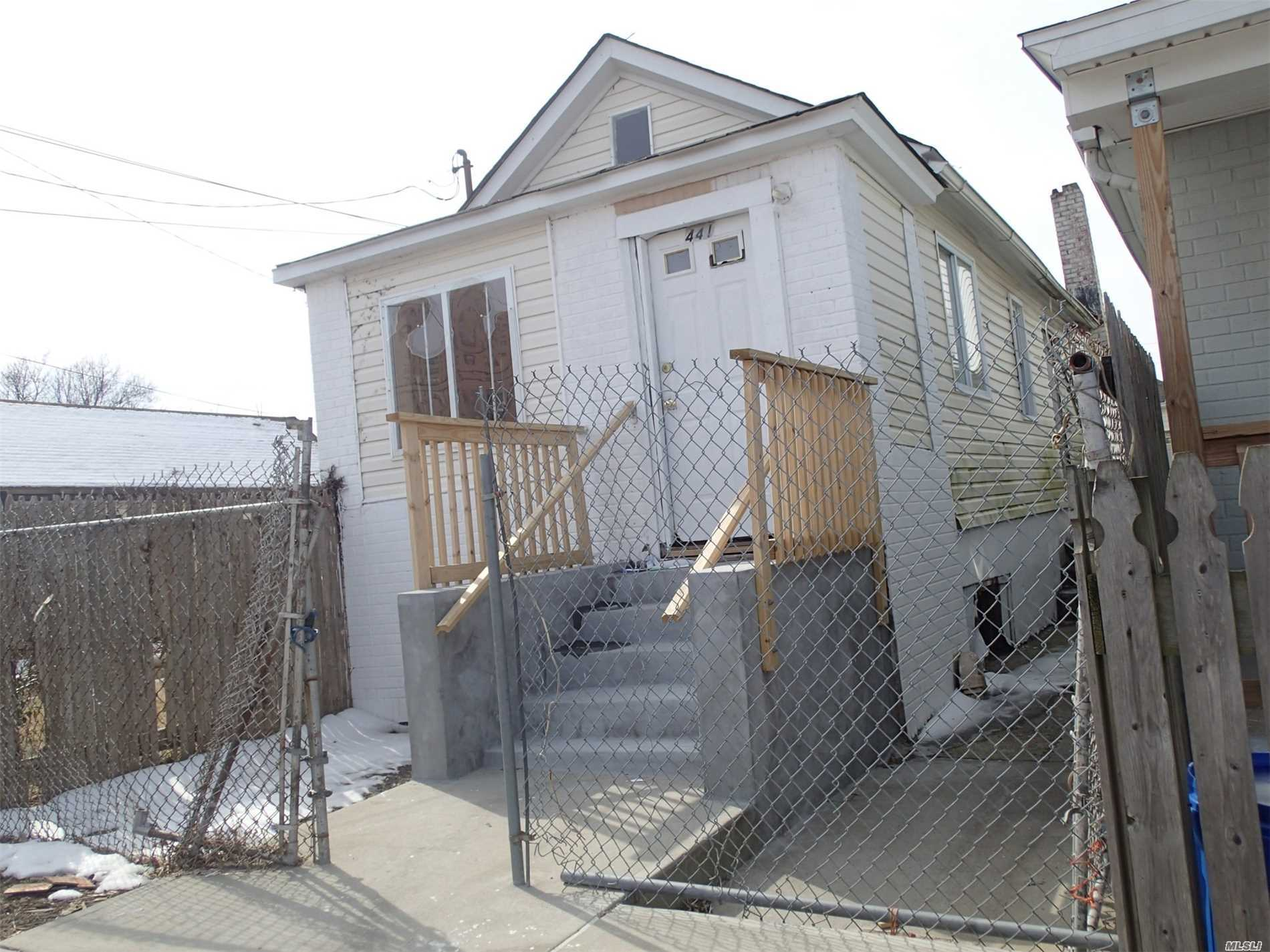 This Is A Fannie Mae Homepath Property. Amazing Multi-Family Opportunity! Featuring 2 Buildings On The Same Lot, Let This 2-Family Property Be Your Ticket To Additional Income! Building 1 Is A 3Br/ 1 Bath And Building 2 Is A 2Br/ 1 Bath. Live In One And Rent The Other, Or Rent Them Both! Close Access To Bayswater Park, Rockaway Community Park, The A Subway Train, Q22/ Qm17, And Supermarkets And Shops. Don't Miss Out!