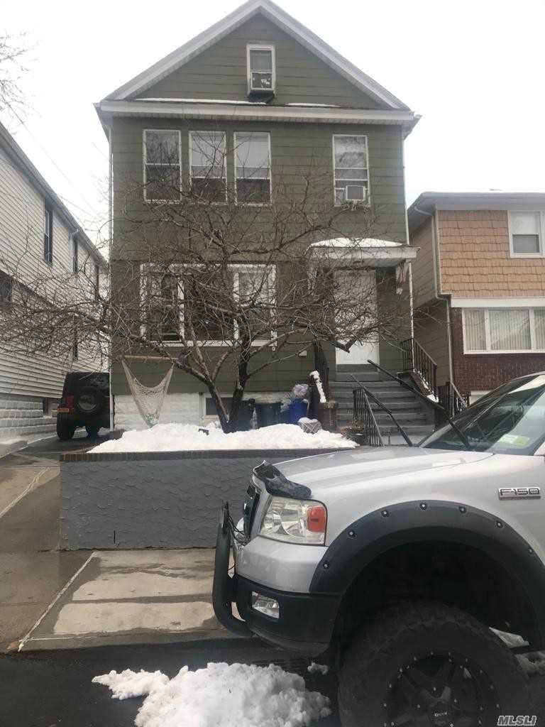Beautiful And Specious. Two Family House On A Very Quiet Dead End Street House Is In Mint Condition. Apartment Has Its Separate Heating System Beautiful Back Yard With Two Car Garage 2 Floors + Attic