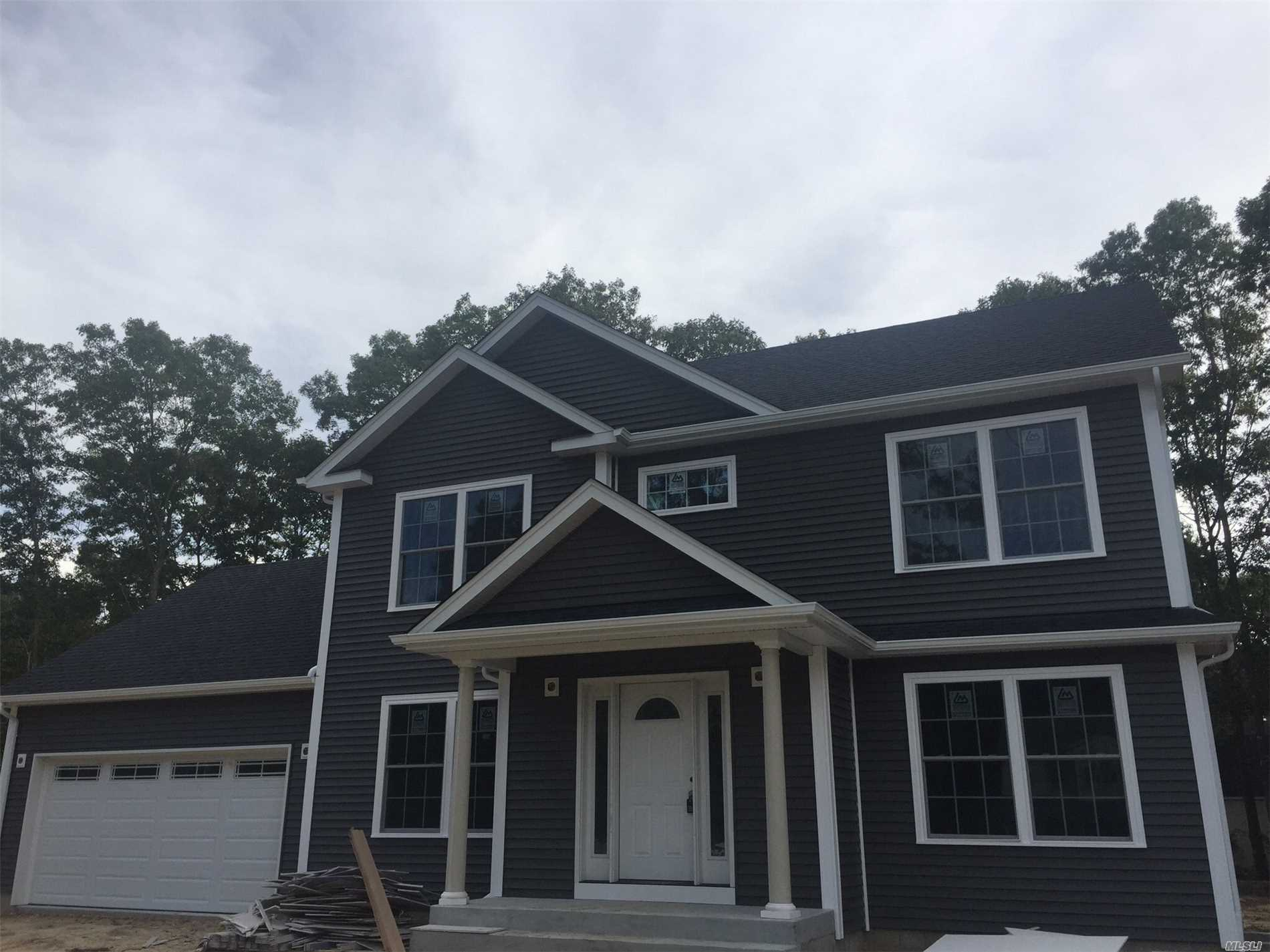 Your Chance To Own A New Home In The Esm School District. This 2100 Sqft Colonial Home Will Be Ready For Occupancy By The Fall. 2 Car Garage, 1/3 Acre Lot, Full Basement With Egress. Come Soon And Pick Your Colors