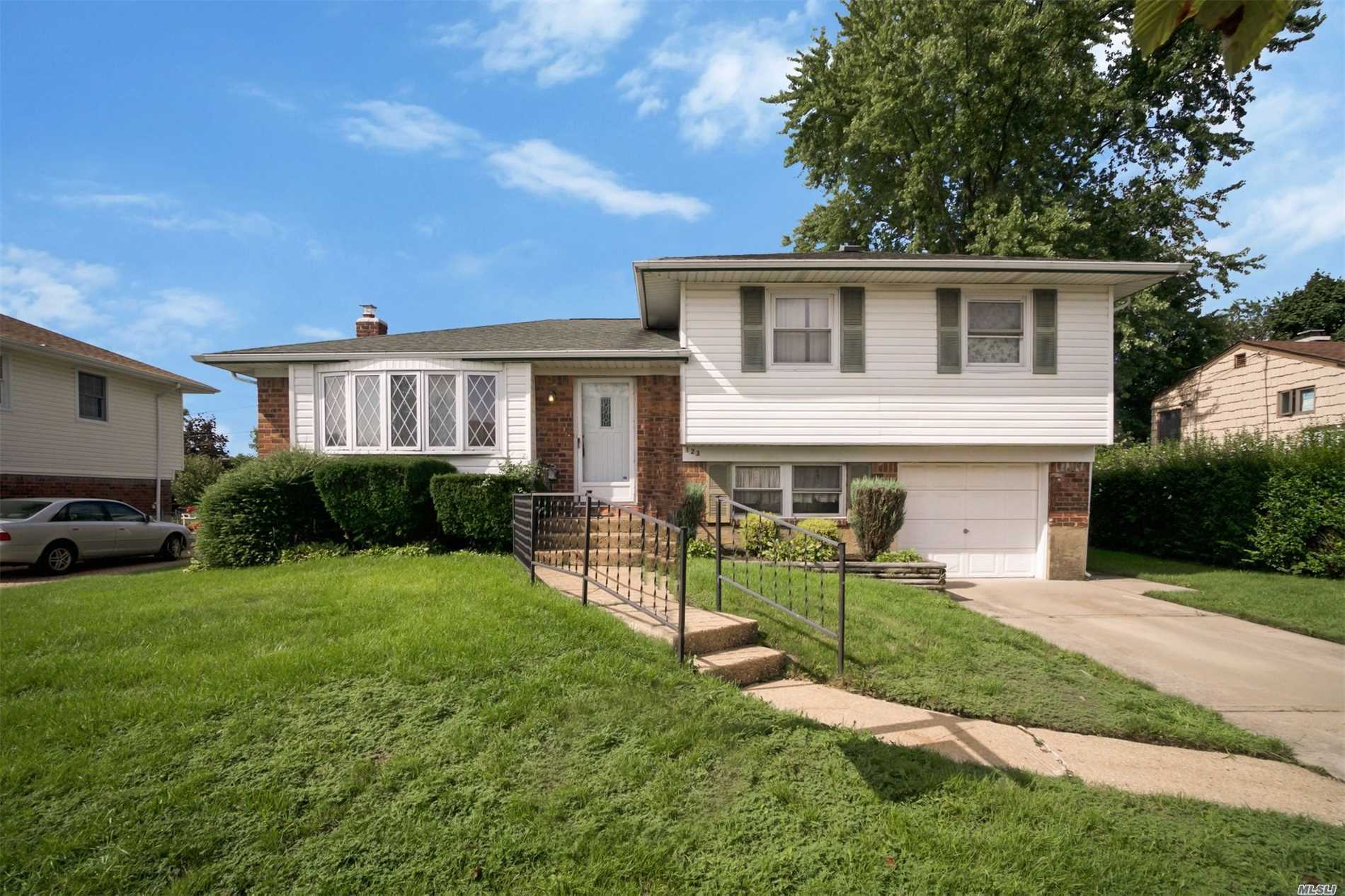 Farmingdale's Best Kept Secret. Perfect & Quiet Mid Block Location. 70 X 115 Fully Fenced Property. Not To Miss This Great Home With So Much To Offer. Centrally Located To Satisfy Your Every Need. Hardwood Floors Throughout. Andersen Windows. High Ceiling Entry. Curb Appeal. Updated Heating & Hot Water System. 200 Amp Electric. Updated Plumbing. Automatic 5 Zone In Ground Sprinkler System. Great Yard For Entertaining. See For Yourself & Make This Home Your Own. Taxes W/Star $7, 691.