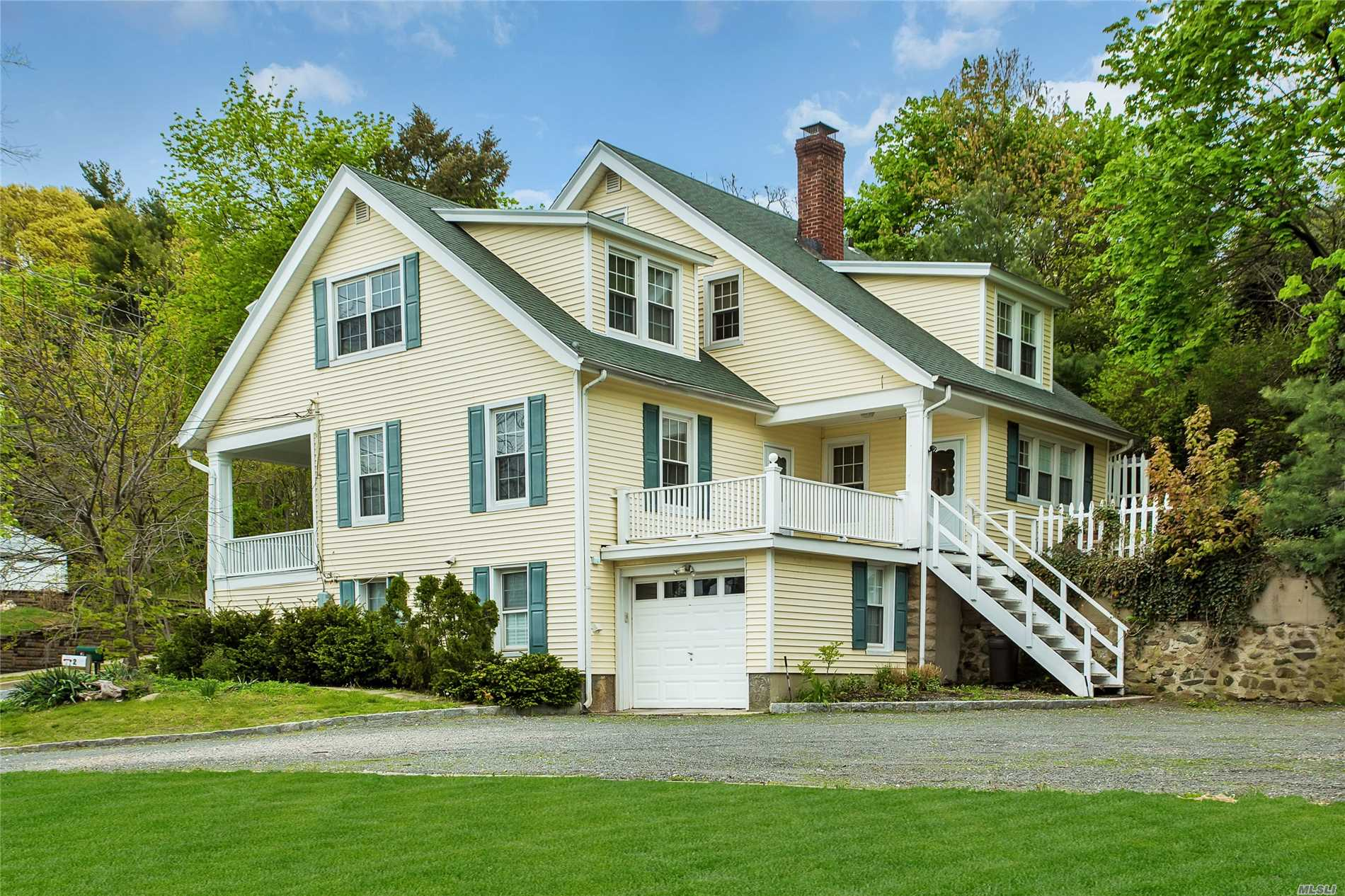 Beautifully Restored Oversized Colonial With A Townhouse Like FeelAll Hardwood Flooring, Updated Kitchen And Baths, Central Air, Attic And Basement Storage, Deck Off Kitchen, Porch Off Living Room, 1 Car Garage, Views Of Huntington Harbor, Turn Key And Immaculate! Non Smoking