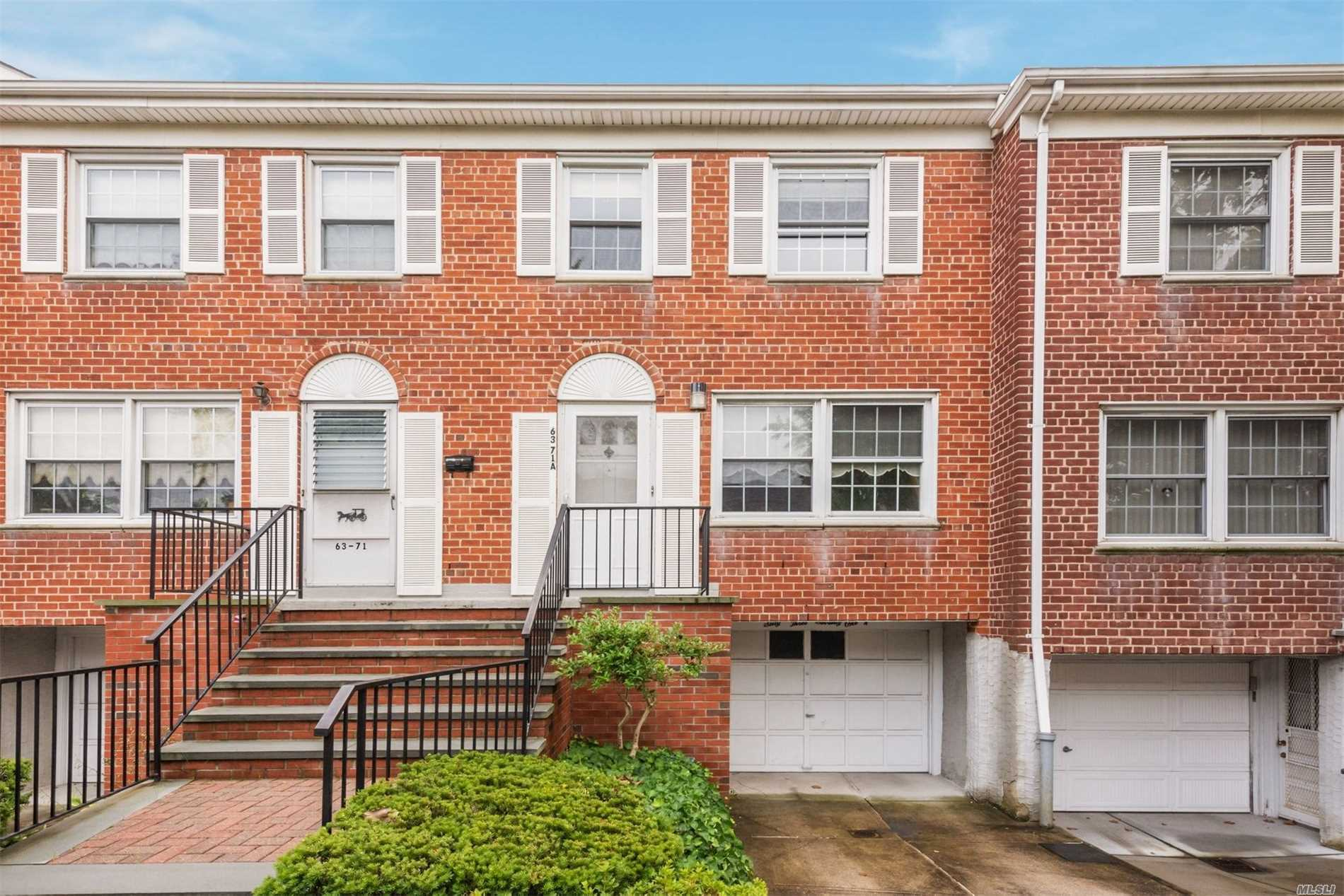Solid Brick Triplex With New Roof, Staircase. Great Community Pool And Playground. This Unit Needs Tlc