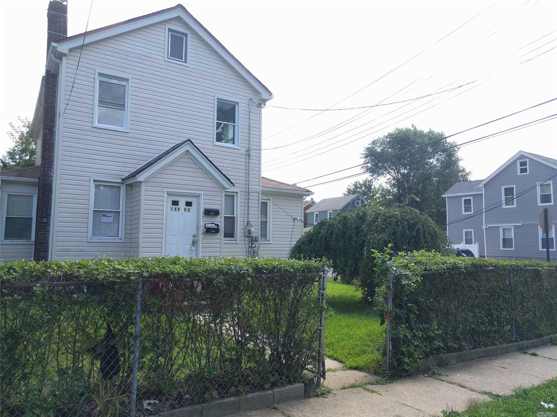 This Lovely One Family Home Located In The Heart Of Springfield Gardens, A Beautiful Corner Lot On A Quiet Block. Can Be Used As A Mother-Daughter. Rare Opportunity, A Must-See.
