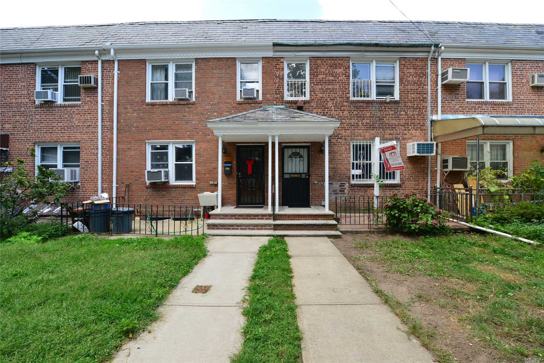 Just Arrived- Great Opportunity To Buy An Affordable Home In Fresh Meadows. This Brick Townhouse Is Freshly Painted And Ready To Be Updated To Your Liking. Convenient To Shopping And Transportation Along Union Turnpike & Express Bus. Schools: Ps 154 & Jhs 250