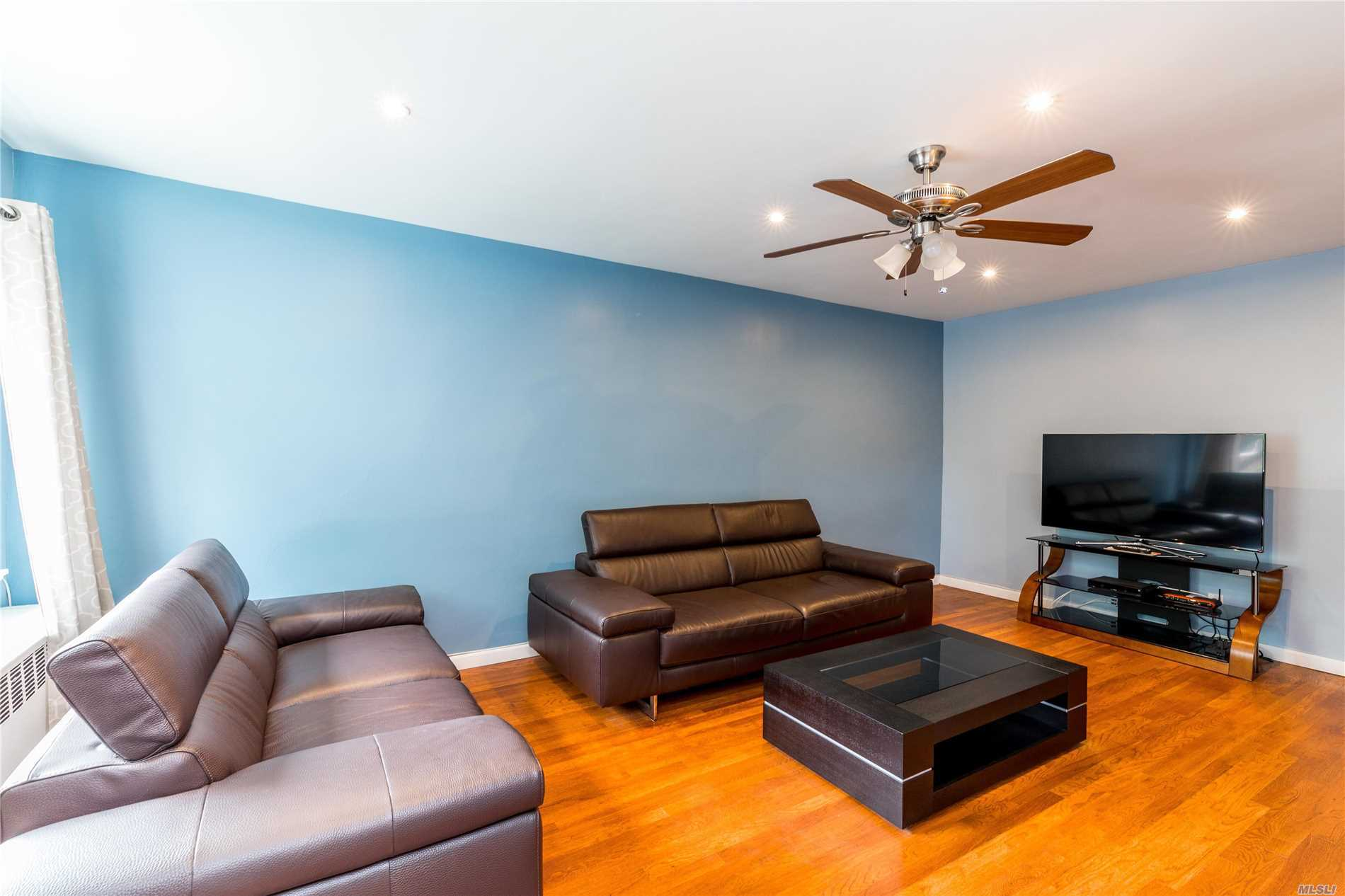 Excellent Opportunity To Own This Property, 2-Br, 1-Ba Over 1-Br 1-Ba And A Full Finished Basement In A Great Quiet Block.
