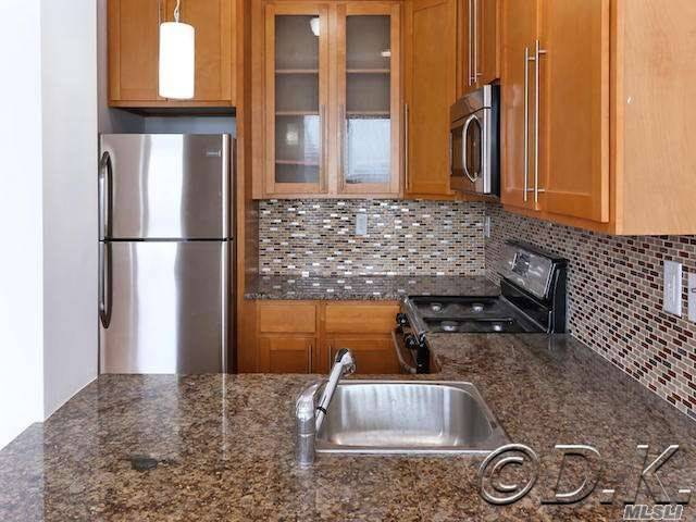 Tremendous 2 Bedrm, 1 Bath Apt. W/ Stunning Ocean Views! Completely Renovated W/Hardwood Floors, Granite & Stainless Eat-In-Kitchen, New Tile Bathrm W/ Jacuzzi Tub, Large Private Terrace, 3 Wall Ac's & Private Washer & Dryer! Parking Included! Pet Friendly Bldg. Has 24 Hour Doorman & Security, 2 Live-In Supers & Package Acceptance Service. Rent Includes Heat, Water, Gas, Access To 24 Hr. State Of The Art Gym W/ Men's & Women's Saunas, Private Beach Club, Volley Ball Court, Game Room & Bike Rm.